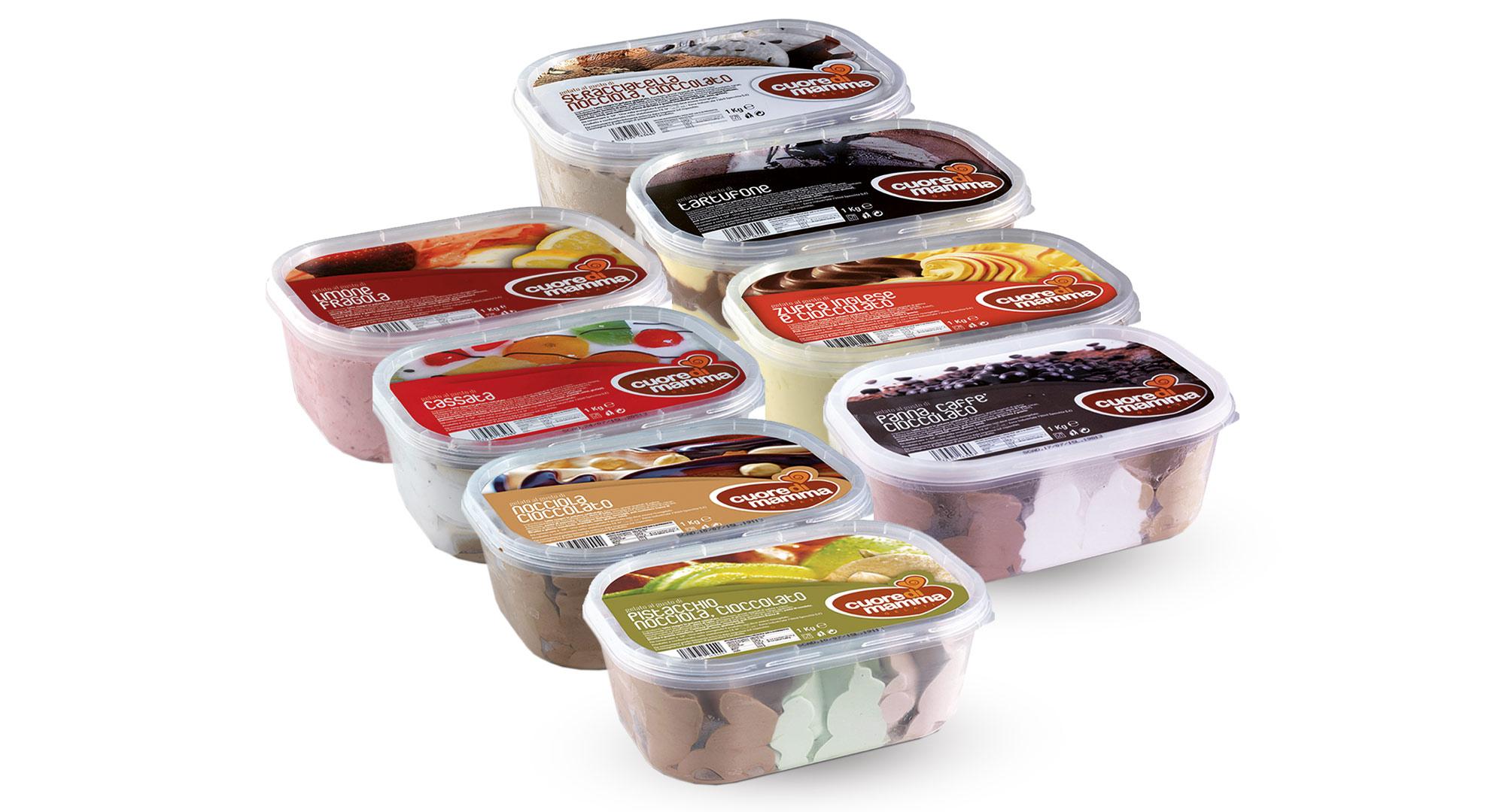 Vaschette gelato 1000 g