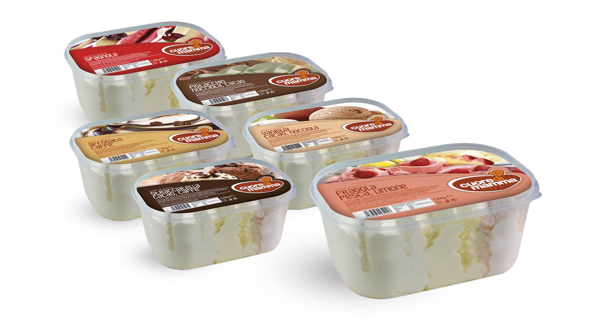 Vaschette gelato 1500 g
