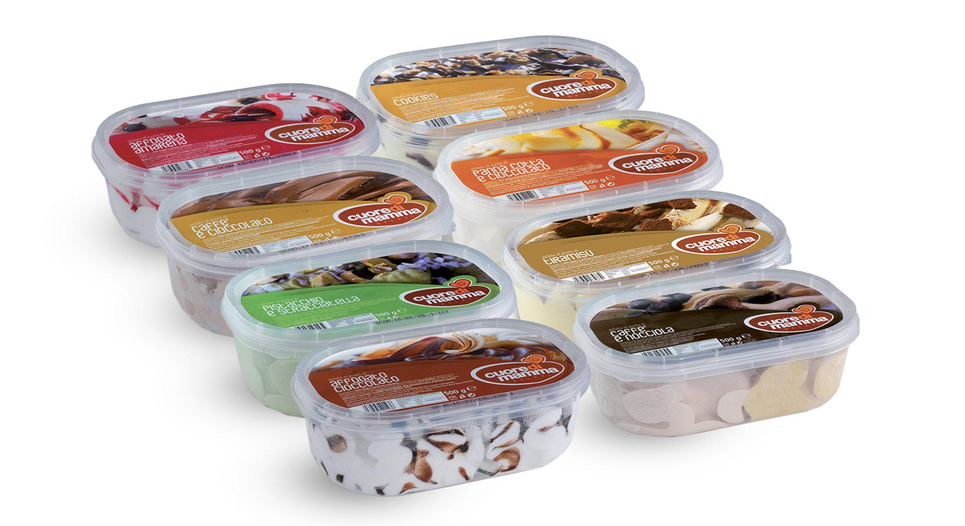 Vaschette gelato da 500 g